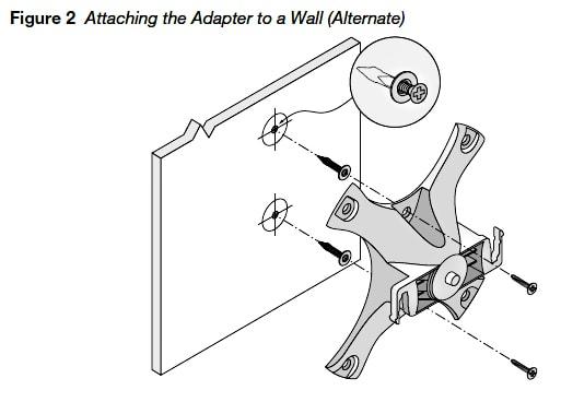 Aruba AP-220-MNT-W1 Wall Mount Kit HP 103 105 205 215 - JW046A